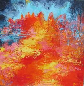 Abstrait rouge 5